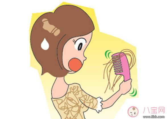 娃认人娘掉发是真的吗 哺乳期妈妈掉头发怎么办